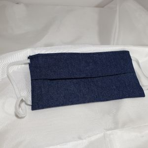 Accessories - Homemade Face Mask/Shield Coverings Denim